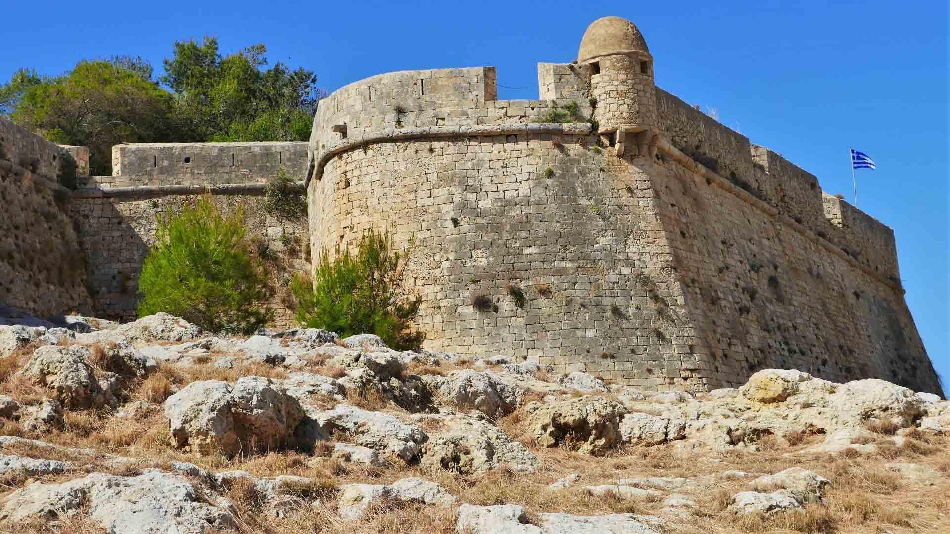fortezza rethymno crete - Casa Moazzo Suites & Apartments Rethymno