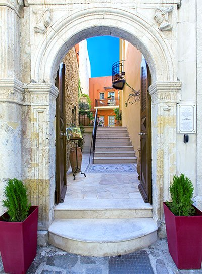 rethymnon accommodation - Casa Moazzo Suites & Apartments Rethymno